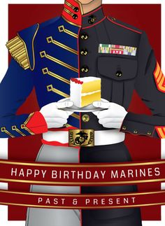 Happy Birthday Marines Past & Present